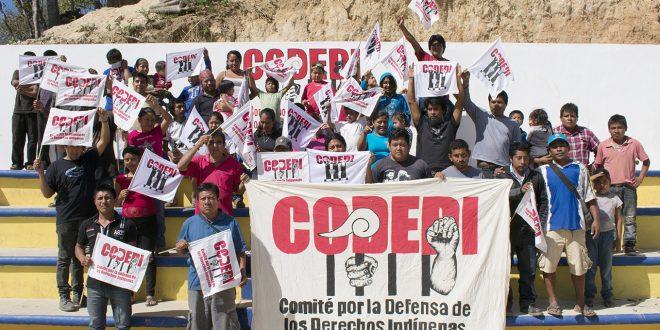 ALTO A LA REPRESIÓN CONTRA EL CODEDI Y LAS LUCHAS AUTÓNOMAS