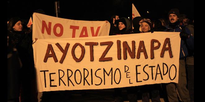 Desde el valle de susa solidaridad con los normalistas de Ayotzinapa