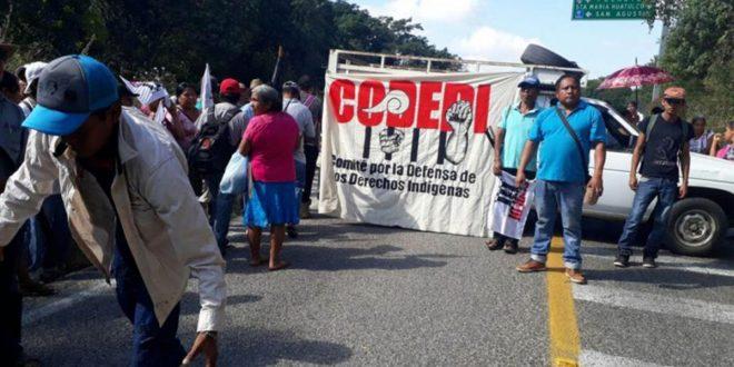 96 colectivos del mundo en solidaridad con el CODEDI