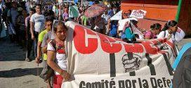 Palavra de Abraham Ramírez Vásquez, sobrevivente do massacre do dia 12 de fevereiro contra o CODEDI.