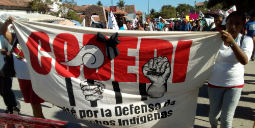 Un messaggio di Abraham Ramírez Vázquez, sopravvissuto al massacro del 12 di febbraio contro il CODEDI