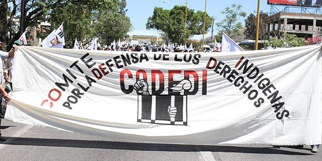 Comunicado en contra la criminalización del Codedi