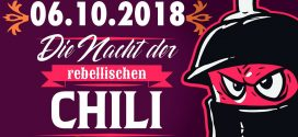 [Berlin] DIE NACHT DER REBELLISCHEN CHILI – Noche del chile rebelde