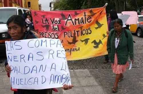 Comunicato della PIRATA in solidarietà con i compagni in sciopero della fame nelle carceri del Chiapas