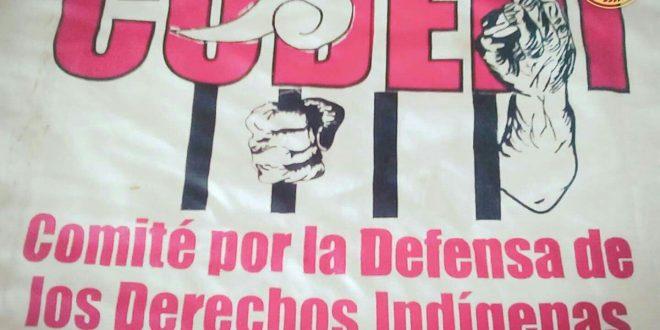 Informe de la Brigada internacional de solidaridad con CODEDI