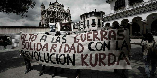 Desde Chiapas gritamos: ALTO AL GENOCIDIO EN AFRIN!