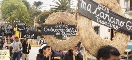 Foto dal quartiere in resistenza di Cuxtitali a San Cristobal de las Casas, Chiapas, Mexico