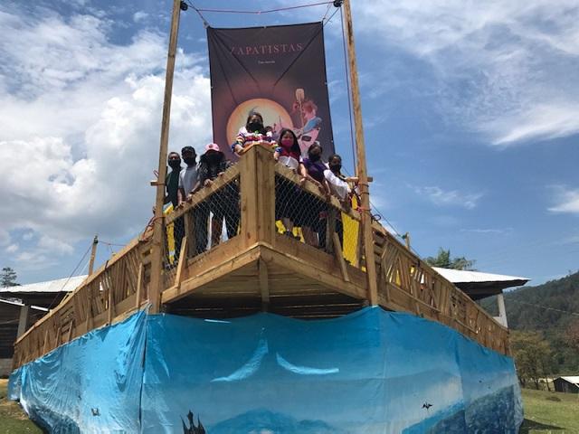 SQUADRONE 421 (La delegazione marittima zapatista)