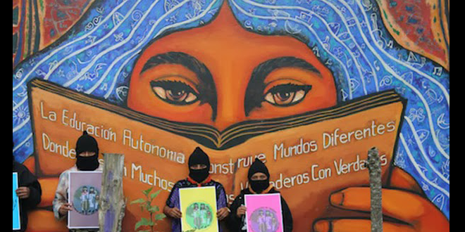 Libri dell'escuelita zapatista in linea